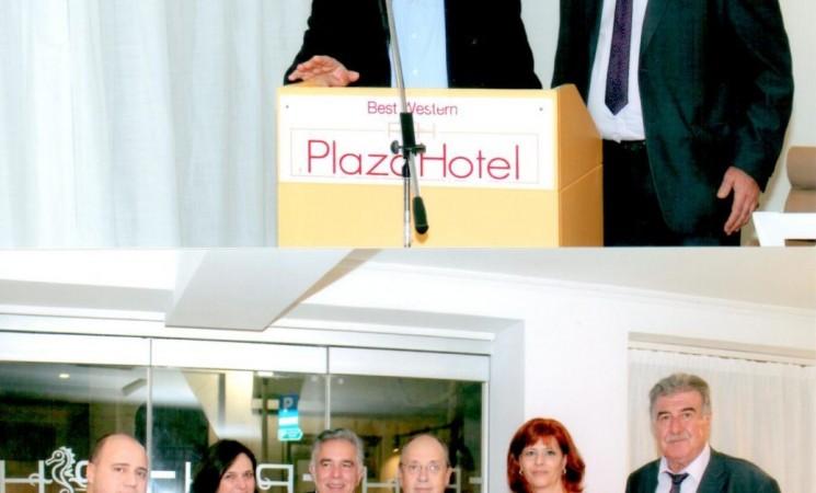 """Ο Βασίλης Α. Υψηλάντης στην εκδήλωση της Ένωσης Κώων Ρόδου για τα """"Βάρβαρα"""""""