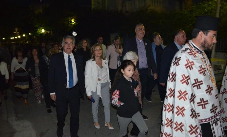 Ο Βασίλης στη γιορτή του Αγίου Γεωργίου