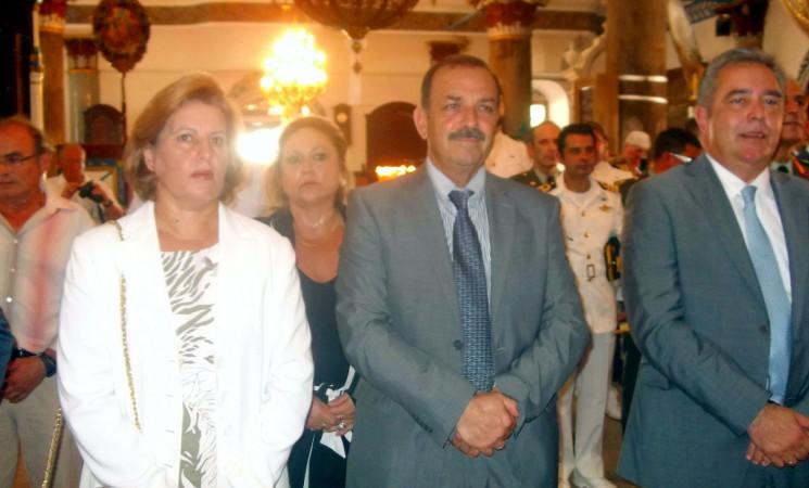 Ο Βασίλης Υψηλάντης στις εορτές της Απελευθέρωσης του Καστελλόριζου