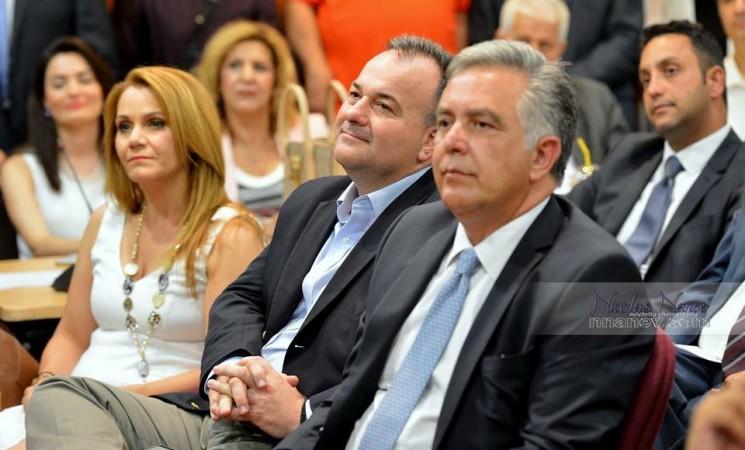 Ο Βασίλης στις εκδηλώσεις του τομέα οικονομίας και ανάπτυξης στη Ρόδο