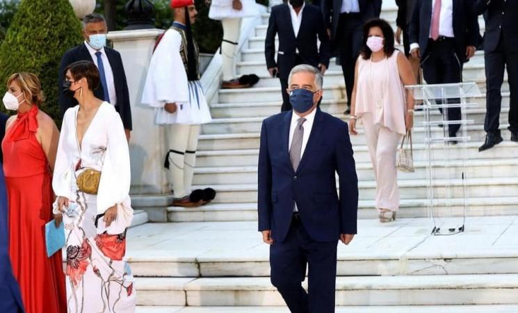 47η επέτειος της αποκατάστασης της Δημοκρατίας στο προεδρικό μέγαρο