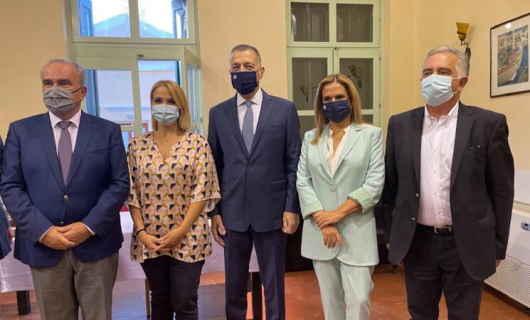 Εγκαίνια μονάδας τηλεψυχιατρικής και αναγόρευση του επίτιμου Αρχηγού ΓΕΣ, Αλκιβιάδη Στεφανή σε επίτιμο δημότη Σύμης