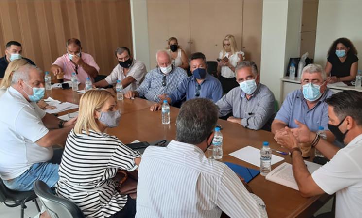 Σύσκεψη για τη στήριξη αιτήματος πρόταξης της εντοπιότητας σε πρόσληψης στη ΔΕΗ και ΔΕΔΗΕ